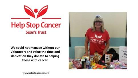 help stop cancer volunteers